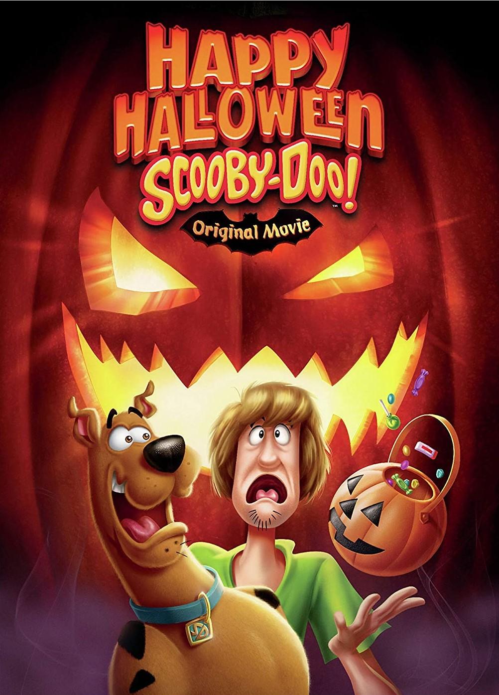 Happy halloween scooby doo